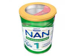 <b>Смесь</b> Nestle <b>NAN</b> 1 <b>Кисломолочный</b> 400 г - купить в детском ...