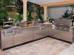 Countertop For Outdoor Kitchen Optimizing An Outdoor Kitchen Layout Hgtv