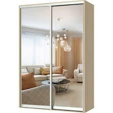 <b>Шкаф</b>-<b>купе Гамма Респект 120х45</b> вяз с зеркалами купить по ...