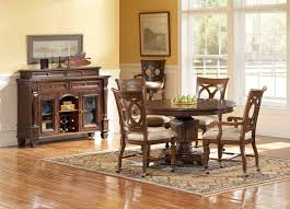 decorating ideas oak furniture room rustic dining room decorating ideas brown varnishes solid wood chairs