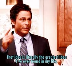 Image result for Chris Traeger literally