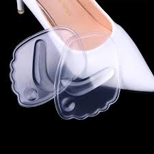 <b>Hot New 1 Pair</b> 9x6.3x0.<b>5cm</b> Women 4D Silicone Gel Forefoot Pad