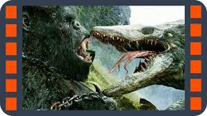 Конг дерется с черепозавром — «<b>Конг</b>: <b>Остров черепа</b>» (2017 ...