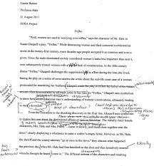 sample literary analysis research paper