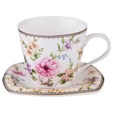 "<b>Чайная пара Lefard</b> ""Полевые цветы"", LF-165/426, 220 мл ..."
