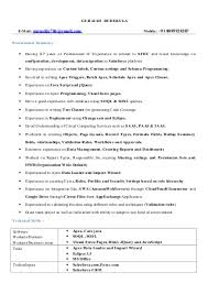 Salesforce Administrator Resume Sample   Resume Examples aploon