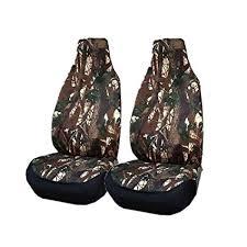 2-Piece Camouflage Car Seat Cover - <b>Four Season Universal Seat</b> ...