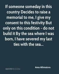 Anna Akhmatova Quotes | QuoteHD