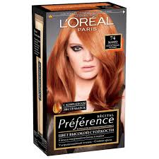 Стойкая <b>краска для волос L'Oreal</b> Paris «Preference», оттенок 74 ...