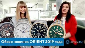 Обзор новинок <b>ORIENT</b> 2019 года из первых уст. Новые <b>часы</b> ...