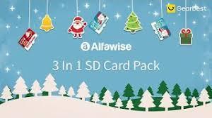 <b>Alfawise Christmas Fun Edition</b> 3 In 1 Micro SD TF Card - Gearbest