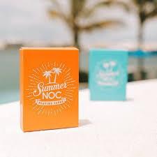 <b>1Pcs</b> NOC Summer V2 Orange Or Sky Blue Color Playing Cards ...
