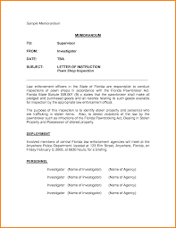 example of memorandum nypd resume related for 10 example of memorandum