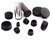 <b>10Pcs pvc round</b> pipe plug Black 14 70mm inner hole dust cover ...