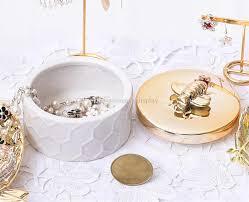 DDisplayPorcelain <b>Honeycomb Jewelry</b> Jars Personalized <b>Bracelet</b> ...
