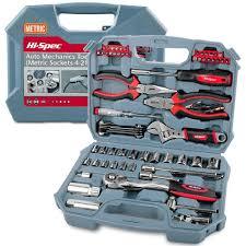 Hi Spec 67pc Hand Tool Set Metric Car <b>Auto Repair</b> Automotive ...