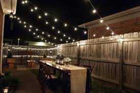 outdoor globe string lights design style all home lighting pretty dinner party ideas backyard string lighting