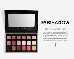Focallure <b>18 Colors</b> Easy To Wear Eyeshadow Matte <b>Textured</b> ...