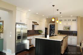 classic white kitchen ideas cristal hanging