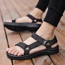 【Ready Stock】<b>2019 new simple</b> Korean Casual Beach Sandal <b>hot</b> ...