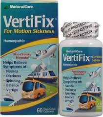 <b>Vertifix</b>™ for <b>Motion</b> Sickness by Natural Care