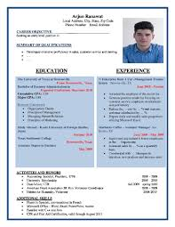 curriculum vitae format best cv formats cv formats browse our popular cv formats