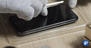 Как самому наклеить <b>защитное стекло</b> на iPhone