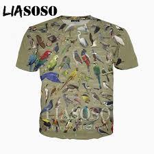 LIASOSO <b>Men</b>/<b>Women</b> 3D <b>print casual</b> tshirt Wild goose animal bird ...