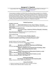 the resume professional profile examples    professional profile examples resume related experience