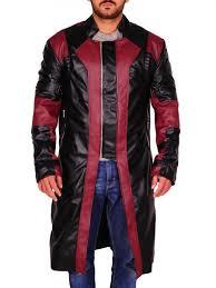 Avengers: Age of <b>Ultron</b> Hawkeye Jeremy Renner Leather Coat