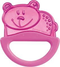 Canpol Babies Погремушка-<b>прорезыватель Мишка</b> цвет розовый ...