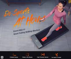 <b>Xiaomi Mijia</b> WalkingPad Treadmill A1 Smart Foldable <b>Walking</b> ...