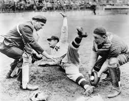 afflictor com · sports babe ruth slides home