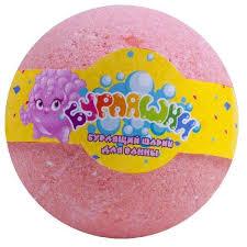 Купить <b>Шар бурлящий</b> для <b>ванны</b> L'Cosmetics розовый, 130 г с ...