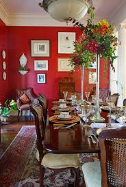 formal dining room red red dining room traditional dining room