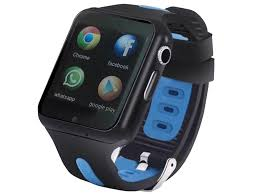 <b>Smart Baby Watch SBW</b> 3G Black-Light Blue | 3amed.ru