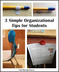 pediatric occuaptional therapy archives your therapy source 3 simple organizational tips for students