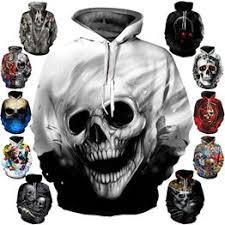 Hot 3D Hoodies Printed Skulls Fashion Sweatshirts Hipster ... - Vova