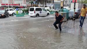 Kütahya'da yoğun yağış