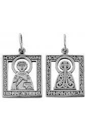 Купить мужские серебряные <b>подвески иконки</b> по низкой цене в ...