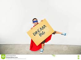 <b>Dream Big</b> Imagination Goal Target Inspiration Concept Stock Photo ...