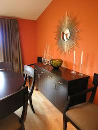 Orange Dining Room Chairs Living Room Design Home Decorating Decorating Ideas Interiors