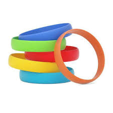 <b>Silicone</b> Wristbands <b>Solid Colors</b>