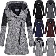 Coat <b>Female Women</b> Warm <b>Slim</b> Jacket Long Sleeve Thick Overcoat ...