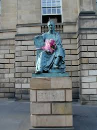 hogmanay a statue of hume by alexander stoddert can be found on the royal mile