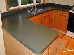 diy tile kitchen countertops: image of diy concrete kitchen countertops