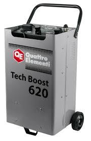 Пуско-зарядное <b>устройство QUATTRO ELEMENTI</b> Tech Boost 620 ...