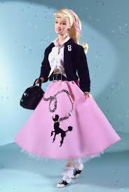 nifty fifties barbie doll i think this doll is super cute but i feel they tried to cram to much in it with the saddle shoes pony tail letterman sweater barbie doll