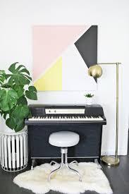 Try This: Abstract <b>Modern</b> Art <b>DIY</b> - A Beautiful Mess