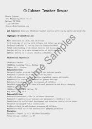 child care assistant teacher resume sample child care assistant resume for childcare
